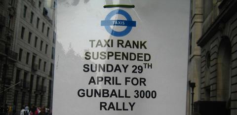 Gumball 3000 salida