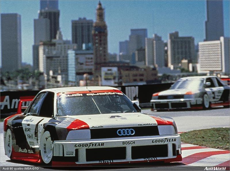 Audi 90 Quattro, IMSA