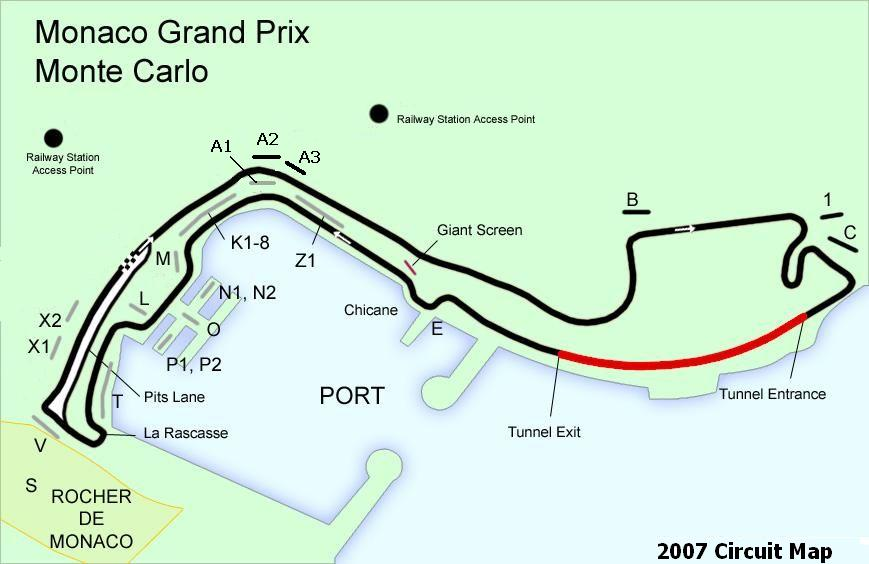 Circuito Monaco : Gp de monaco lo que no se ve a menudo vueltas
