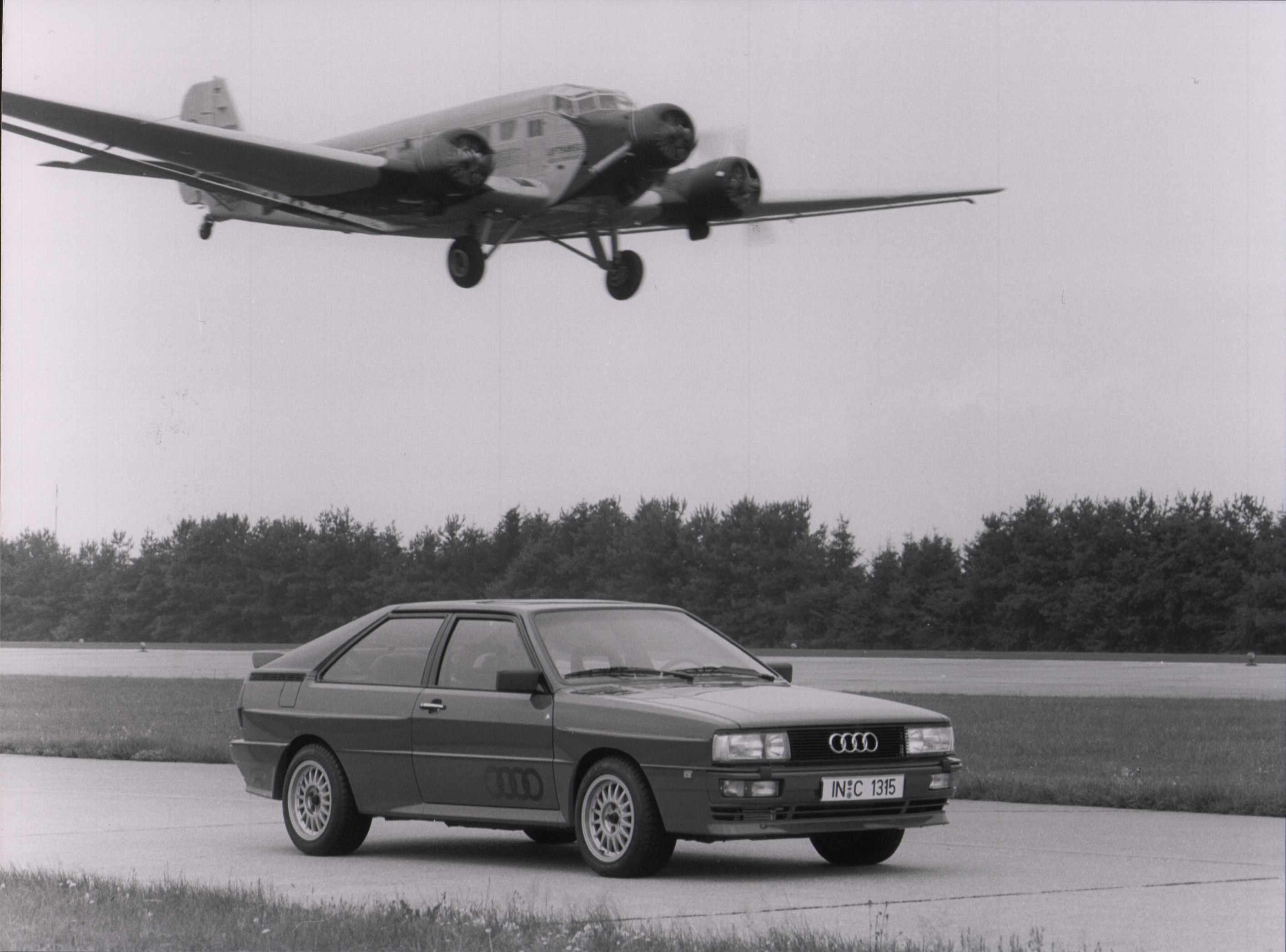 Audi Quattro, 1987