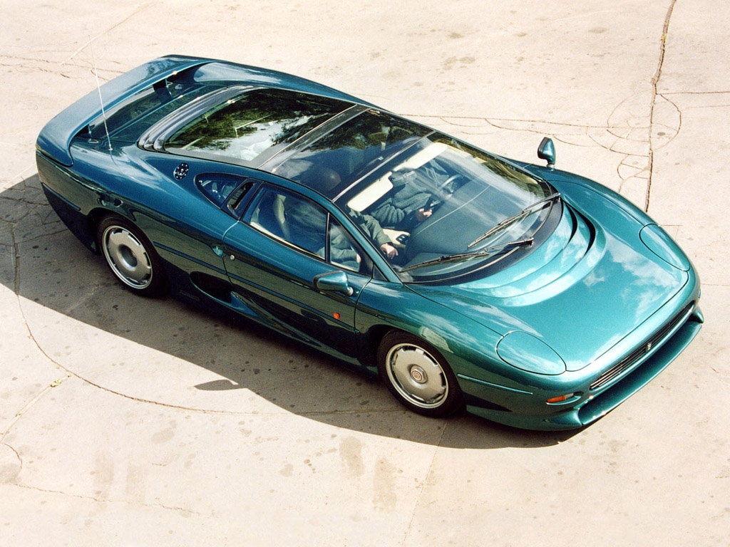 Jaguar XJ220 Collection Images
