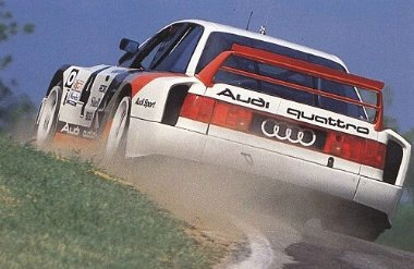 Audi quattro IMSA Röhrl