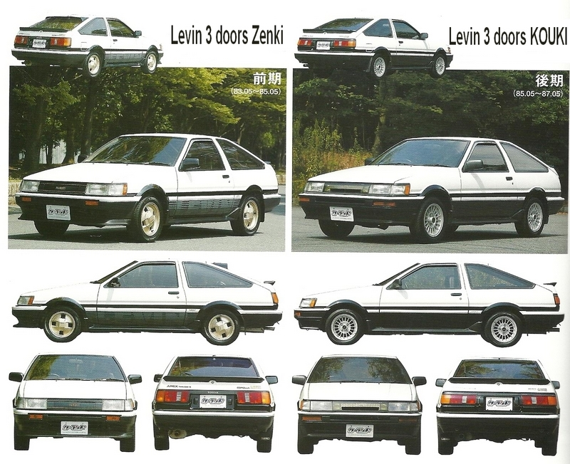 Toyota Corolla Ae86 Jap 243 N Sabe Hacer Coches Con Alma