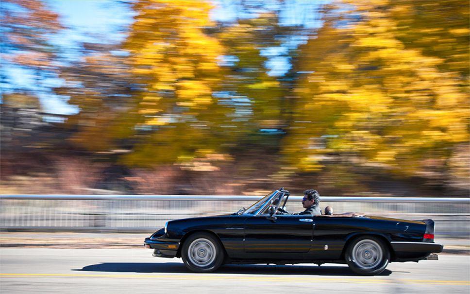 Alfa Romeo Spider Side