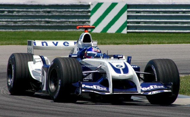 Williams-BMW FW26 (20 de Junio de 2004, GP de EE.UU., Indianápolis, Juan P. Montoya)