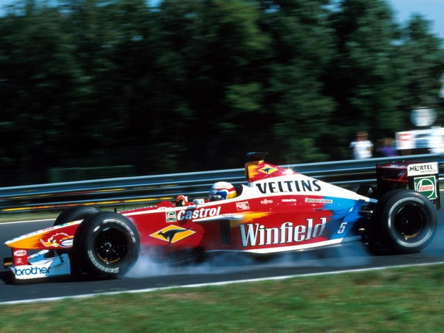 Williams-Supertec FW21 (15-08-1999, Hungaroring, GP de Hungría, Alex Zanardi)