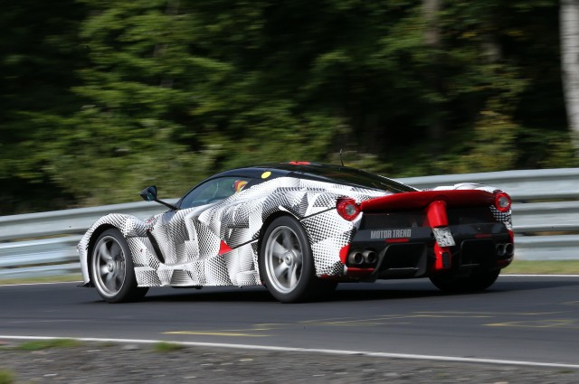 2014-Ferrari-LaFerrari-prototype-at-Nurburgring-left-rear-2