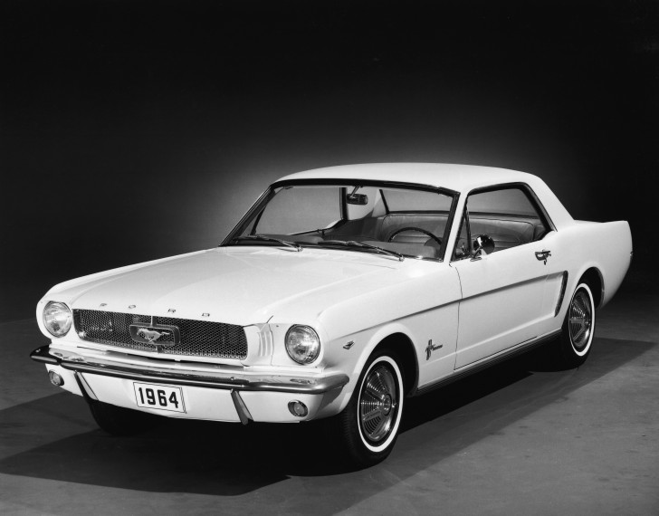 Promotional Shot Of 1964 Ford Mustang