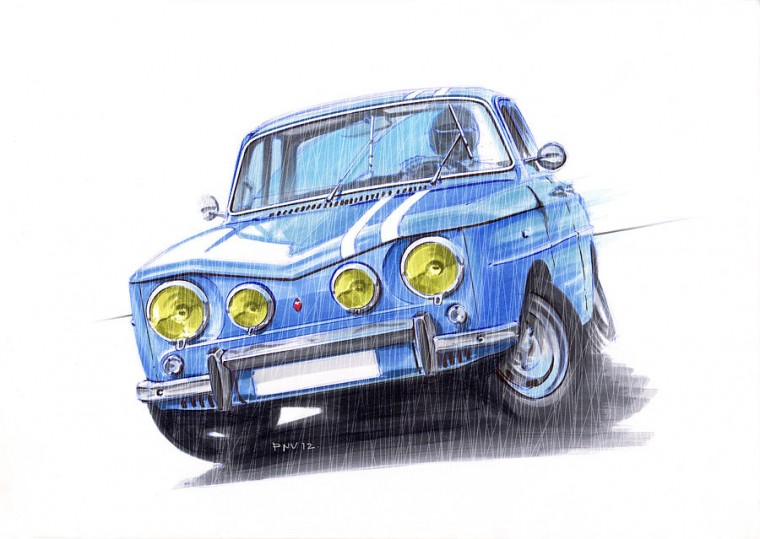 renault-8-gordini-amazing-drift-atanas-panchov