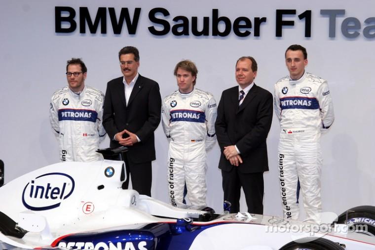 BMW P86 presentación en Valencia (17-1-2006)
