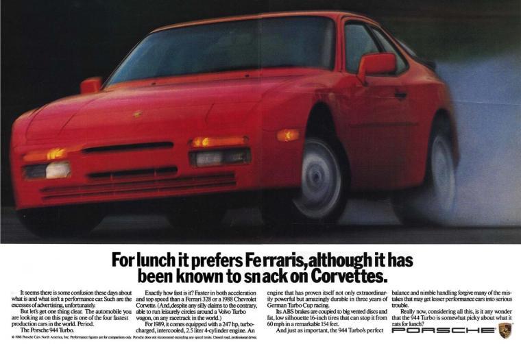 944 Turbo eat Corvettes