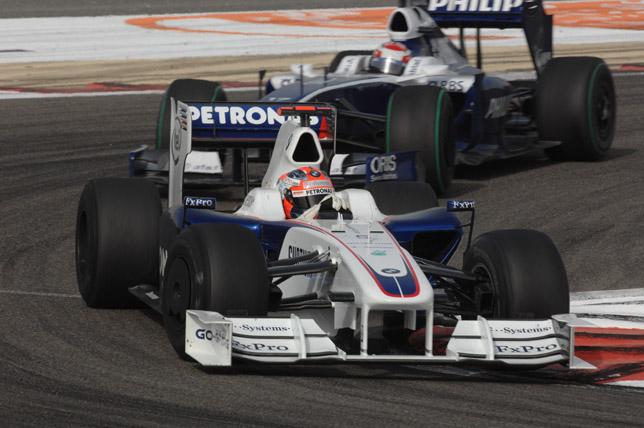 BMW Sauber F1.09 (26-4-2009, Sakhir, GP de Bahréin, Robert Kubica)