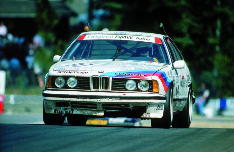 BMW 635 CSi Schnitzer (03-08-1986, Spa-Francorchamps, 24 h de Spa, Gerhard Berger).
