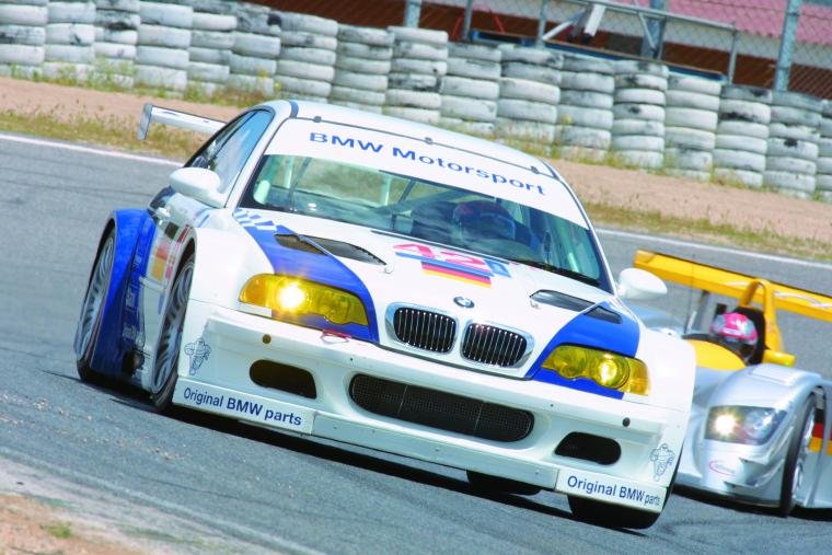 BMW M3 E46 GTR (18-05-2001, Jarama, ALMS, JJ Lehto)