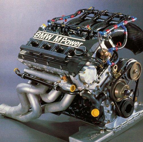 Motor BMW S14 de un M3 (E30) de DTM