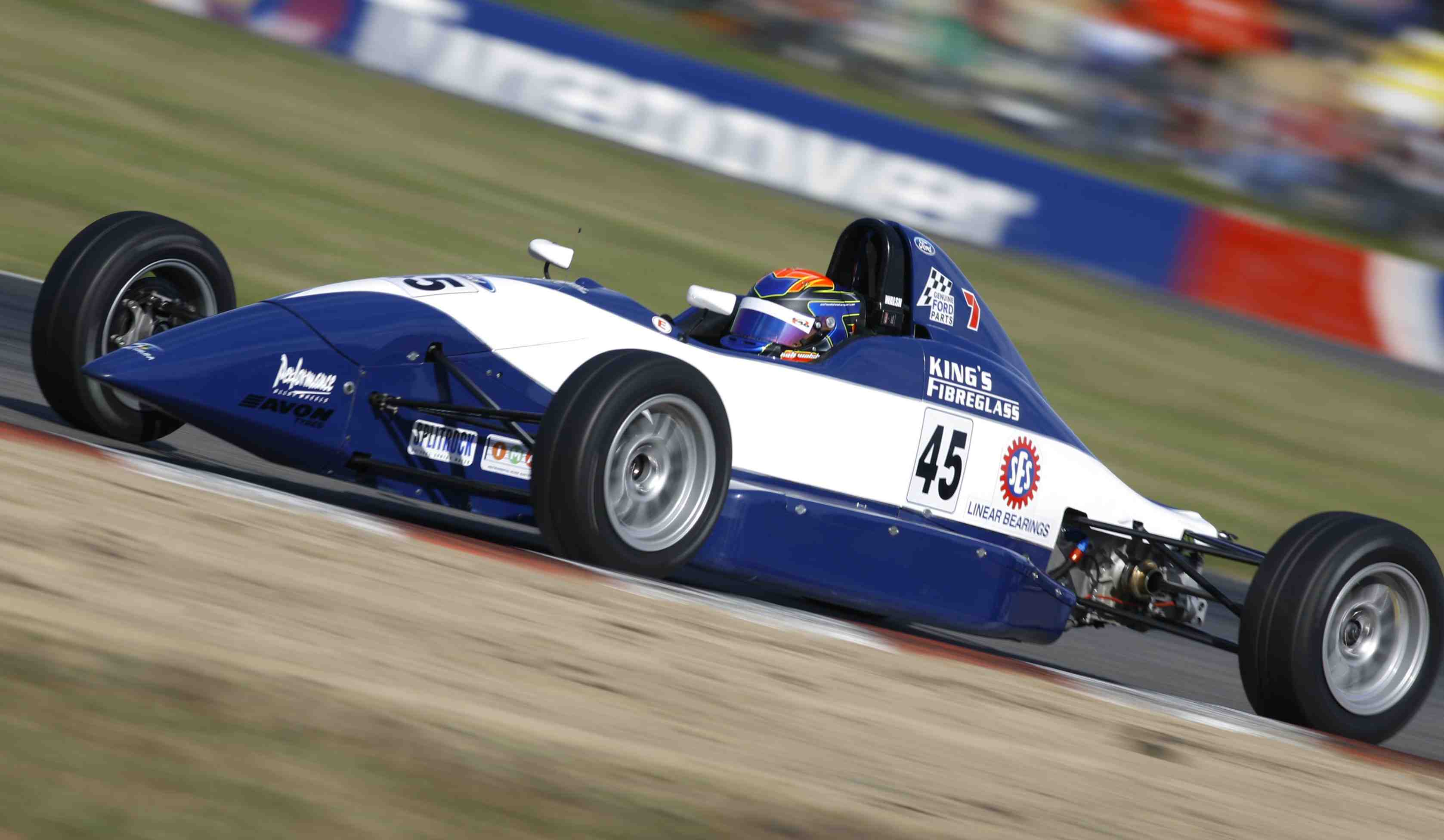 Ashley Walsh during the Winton Motor Raceway, round 03 of the 2009 Formula Ford Championship at the Winton Motor Raceway, Winton, Victoria, May 16, 2010.