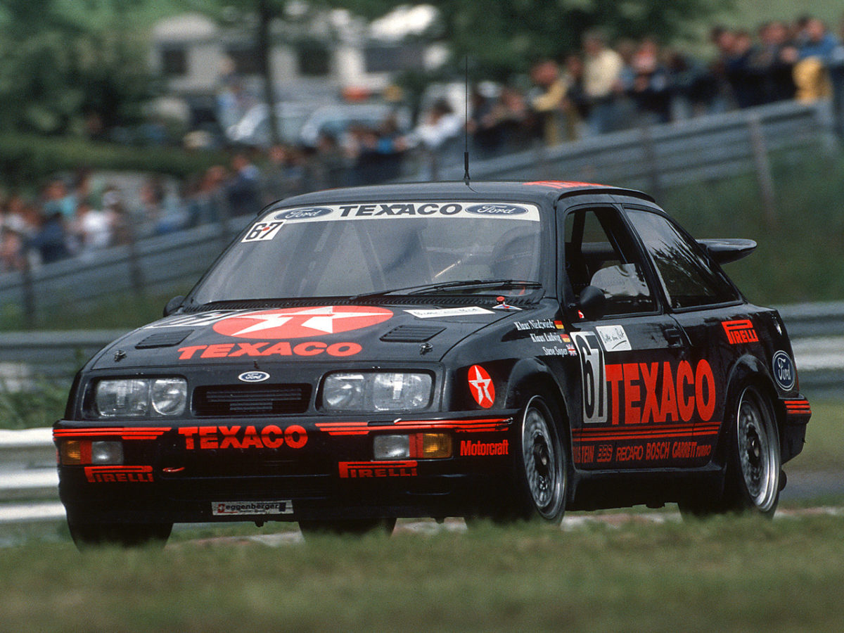 24 Std. Nuerburgring 20./21.06.1987 Ludwig/Niedzwidz/Soper Ford Sierra RS 500